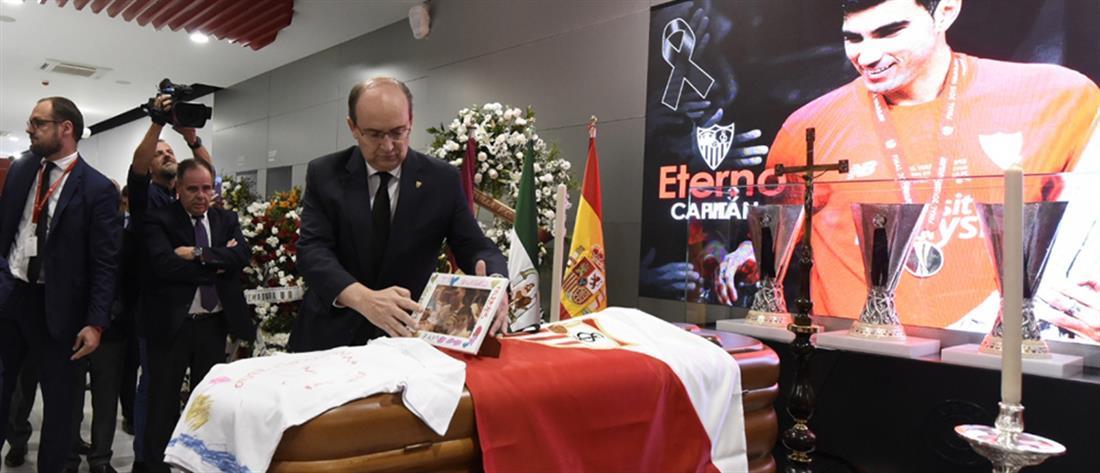 """Χοσέ Αντόνιο Ρέγιες: θρήνος στο """"τελευταίο αντίο"""""""