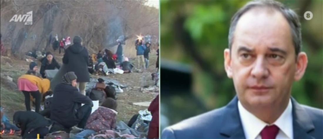 Πλακιωτάκης στον ΑΝΤ1: κάποιους ενοχλεί η μείωση των προσφυγικών ροών (βίντεο)