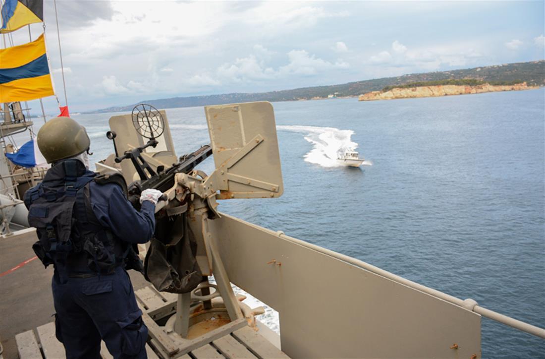 Λόγχη - ναυτική άσκηση