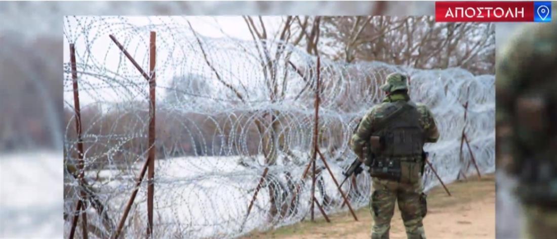 Ο ΑΝΤ1 στον Έβρο: Με πυρετώδεις ρυθμούς η επέκταση του φράχτη (βίντεο)