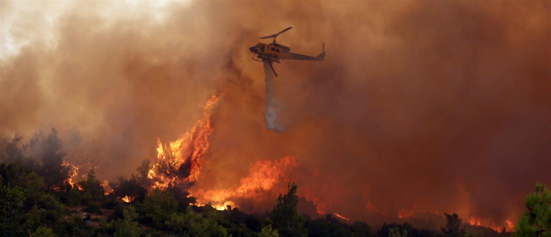 Φωτιές: Πολύ υψηλός κίνδυνος την Παρασκευή σε Αττική και Εύβοια
