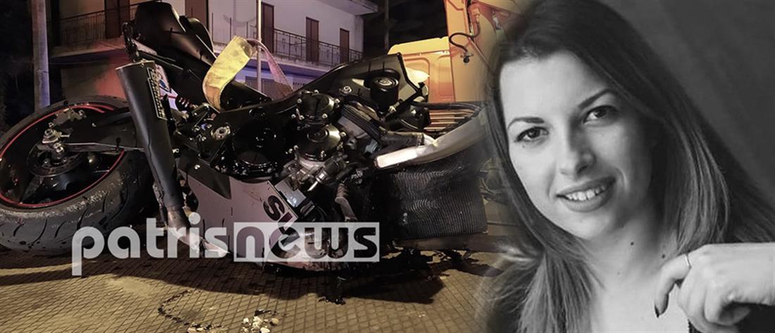 Νεκρή 24χρονη σε τροχαίο με μηχανή (εικόνες)