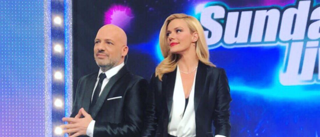"""Sunday Live"": λαμπερή πρεμιέρα με εκπλήξεις, αγαπημένους καλεσμένους και… ατυχήματα (βίντεο)"