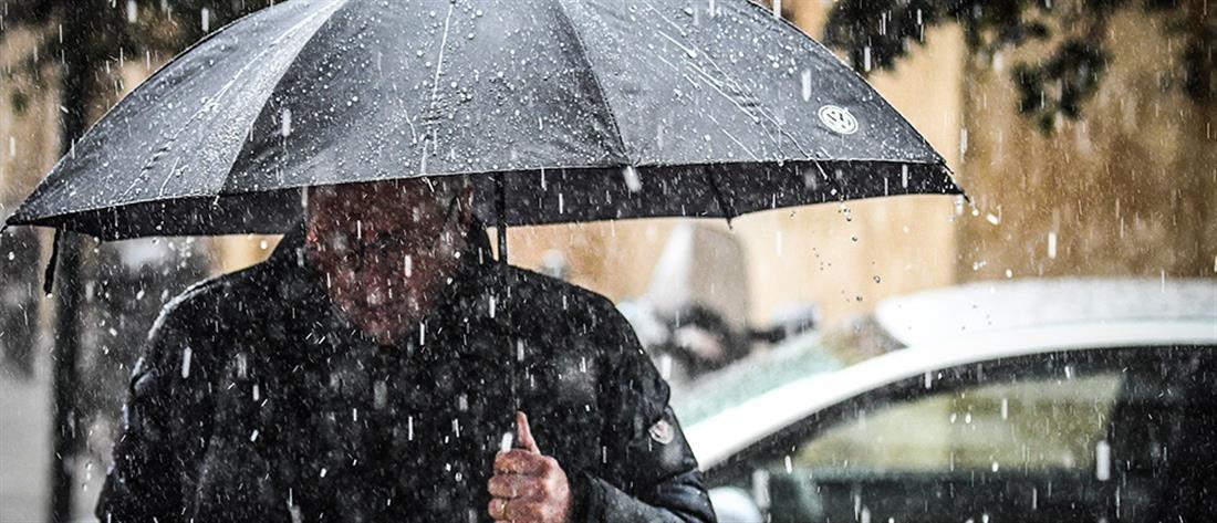 Έκτακτο Δελτίο ΕΜΥ: Καταιγίδες και χαλαζοπτώσεις