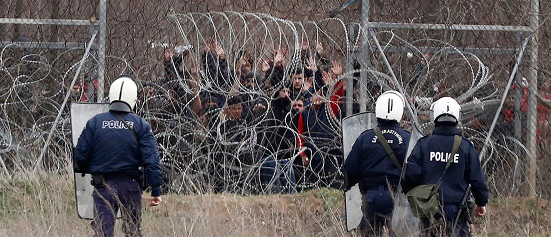 """Έβρος: """"επί ποδός"""" Στρατός και Αστυνομία στα ελληνοτουρκικά σύνορα (εικόνες)"""