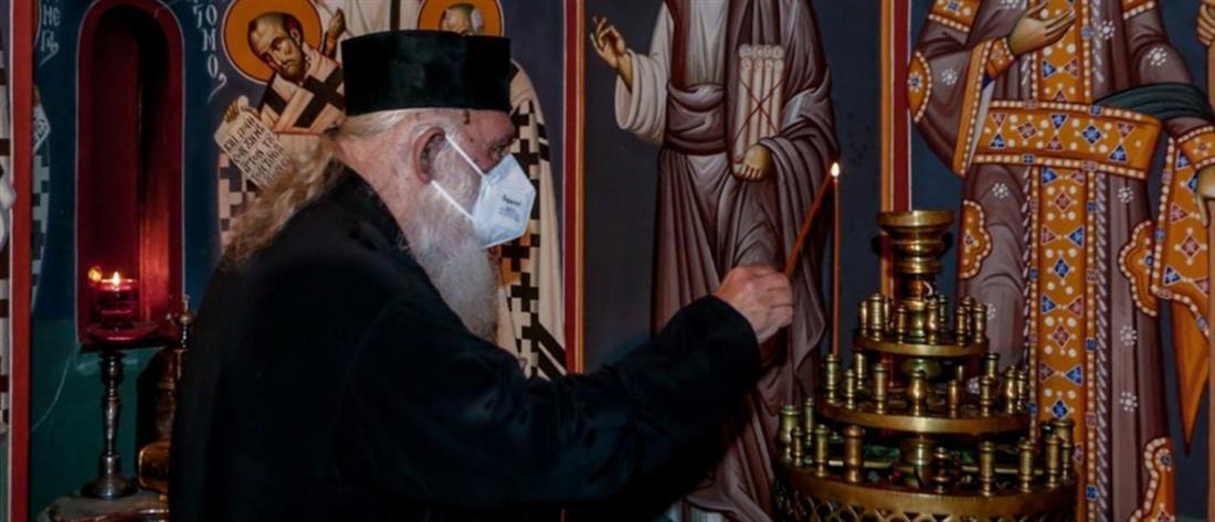 Κορονοϊός: εξιτήριο για τον Ιερώνυμο