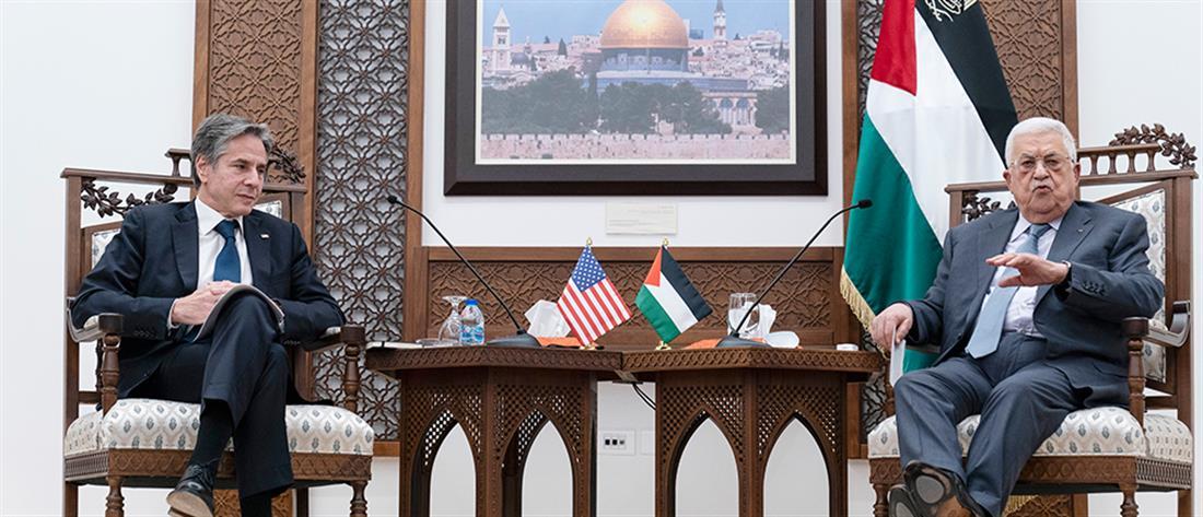 """Μεσανατολικό: Οι ΗΠΑ """"ξαναχτίζουν"""" σχέσεις με τους Παλαιστίνιους"""
