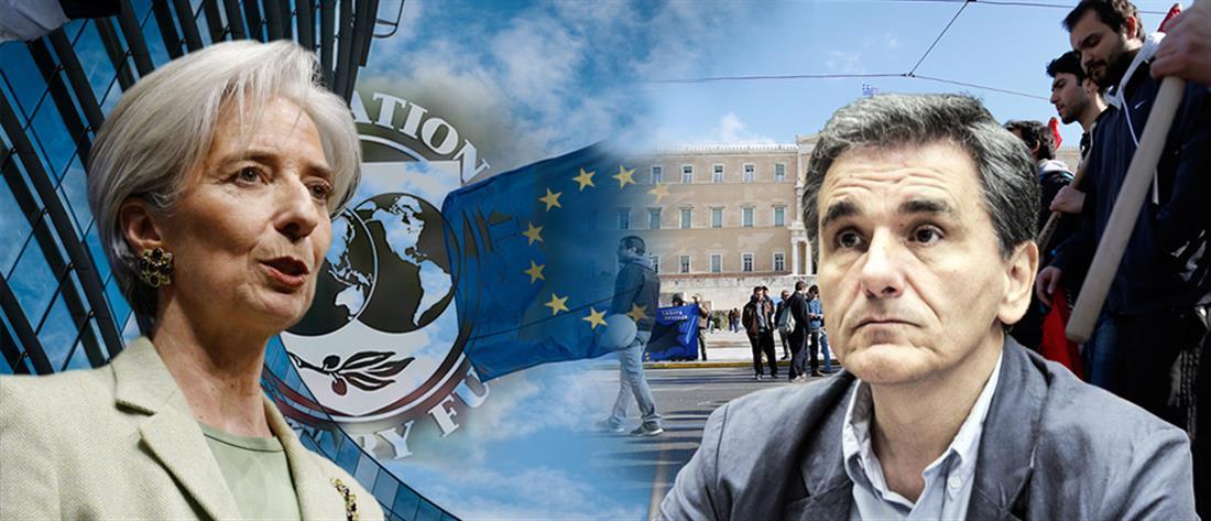 """Κινδυνολογεί και ρίχνει πάλι """"βόμβες"""" το ΔΝΤ"""