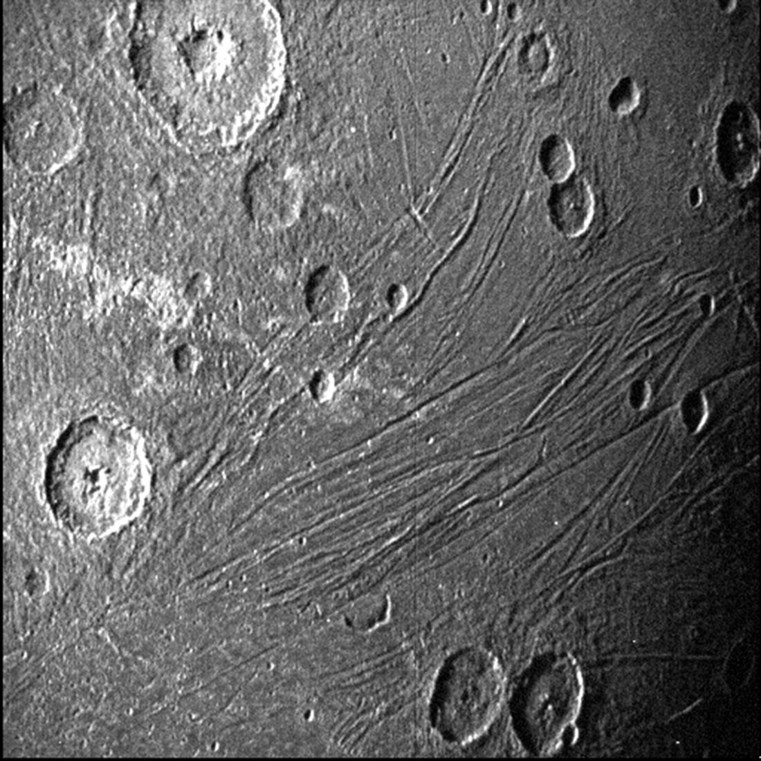 AP - NASA - δορυφόρος Γανυμήδης - Δίας