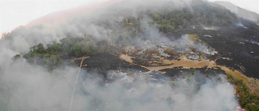 Αμαζόνιος: ρεκόρ πυρκαγιών τον Ιούνιο