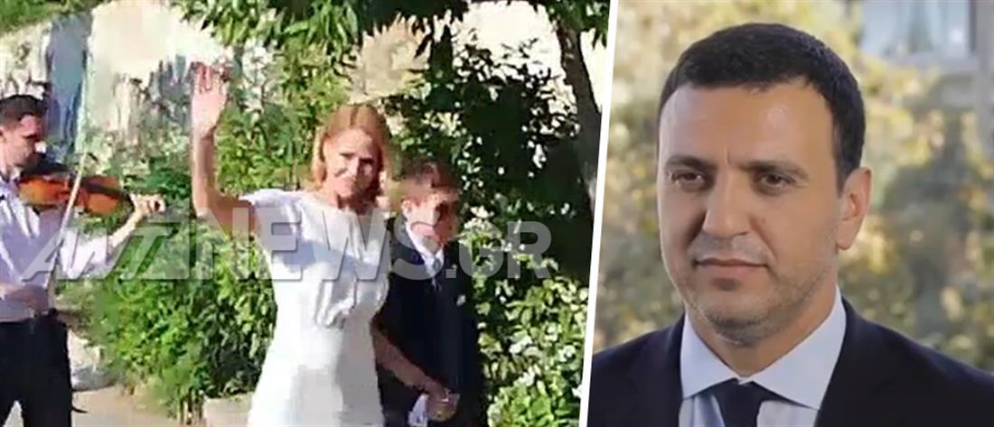 Τζένη Μπαλατσινού – Βασίλης Κικίλιας: έφτασε η ώρα για τον γάμο τους (εικόνες)