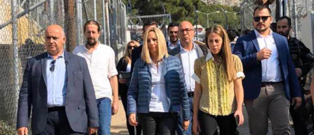 Γεννηματά: ο Ερντογάν μας έχει πάρει τα κλειδιά και μας εκβιάζει