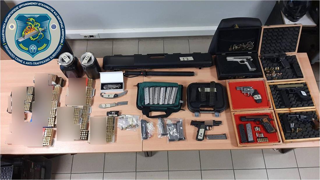 παράνομη κατοχή όπλων - Θεσσαλονίκη