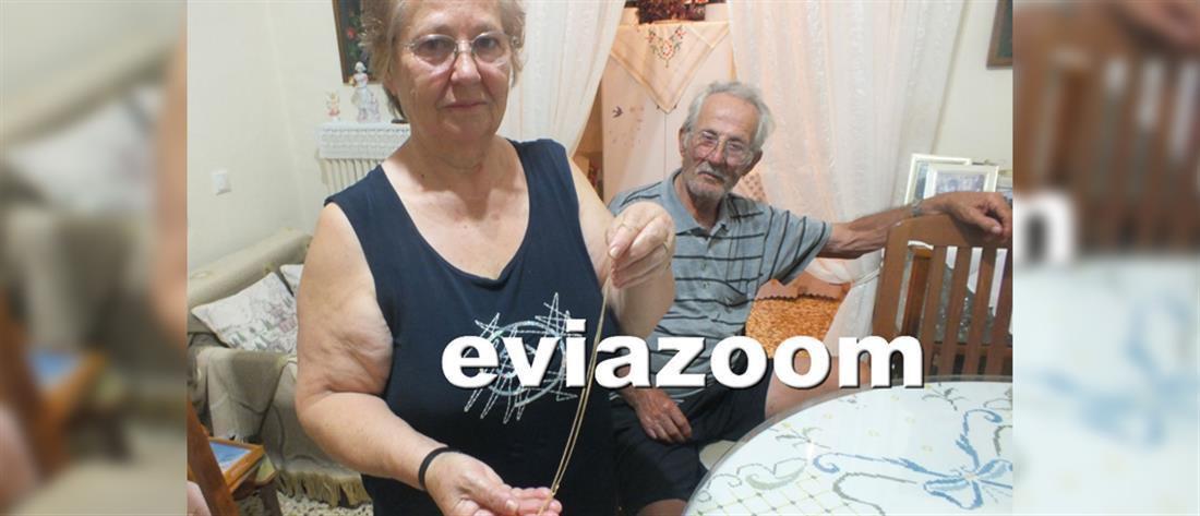 Συγκλονίζει η ηλικιωμένη: πήγε να με πνίξει για μια αλυσίδα (βίντεο)