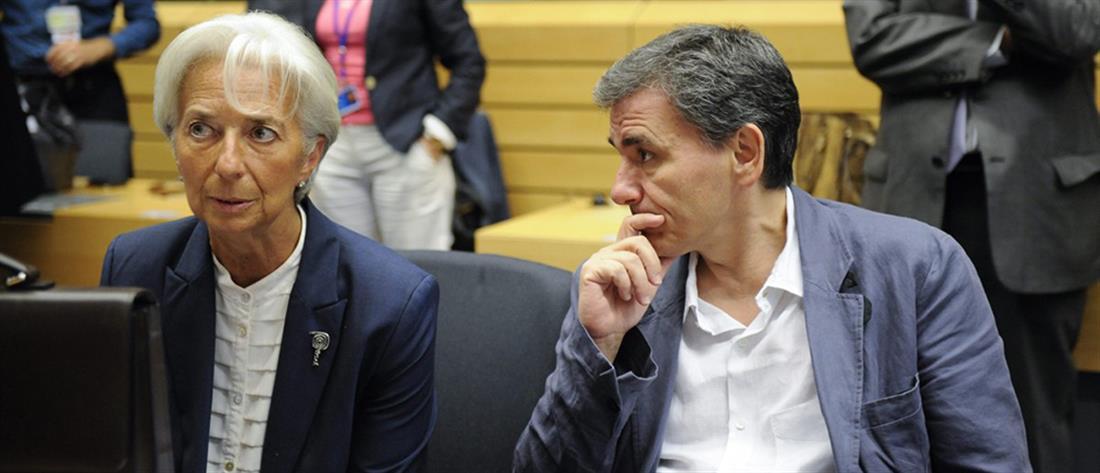 Ταύτιση απόψεων μεταξύ ΔΝΤ και Ελλάδας βλέπει ο Τσακαλώτος για το χρέος