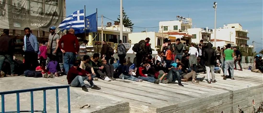 Αποζημιώσεις στους κατοίκους της Χίου για τις ζημιές από τους πρόσφυγες