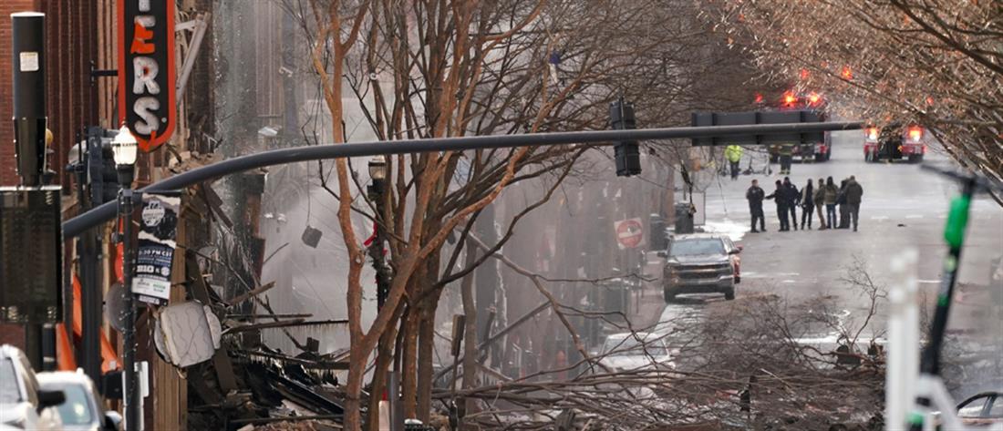Ισχυρή έκρηξη ταρακούνησε το Νάσβιλ (εικόνες)