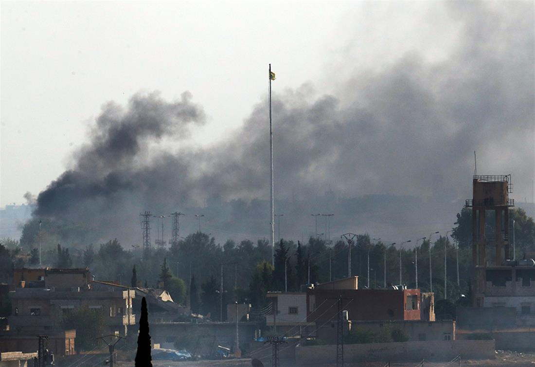 βομβαρδισμοί - Συρία
