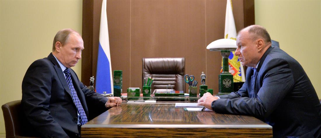 """Ο πλουσιότερος Ρώσος έγινε """"φτωχότερος"""" κατά 1,2 δισεκατομμύρια δολάρια"""