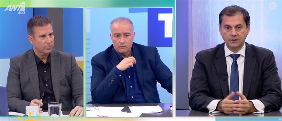 Θεοχάρης στον ΑΝΤ1: το Μεταναστευτικό δεν επηρεάζει αρνητικά τον ελληνικό τουρισμό