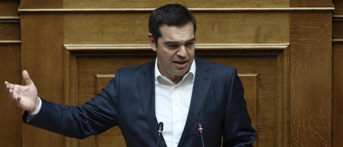 Τσίπρας σε Μητσοτάκη: εξαπατήσατε τον ελληνικό λαό