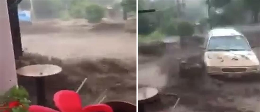 """""""Άνοιξαν οι ουρανοί"""" σε Θράκη και Έβρο (βίντεο)"""