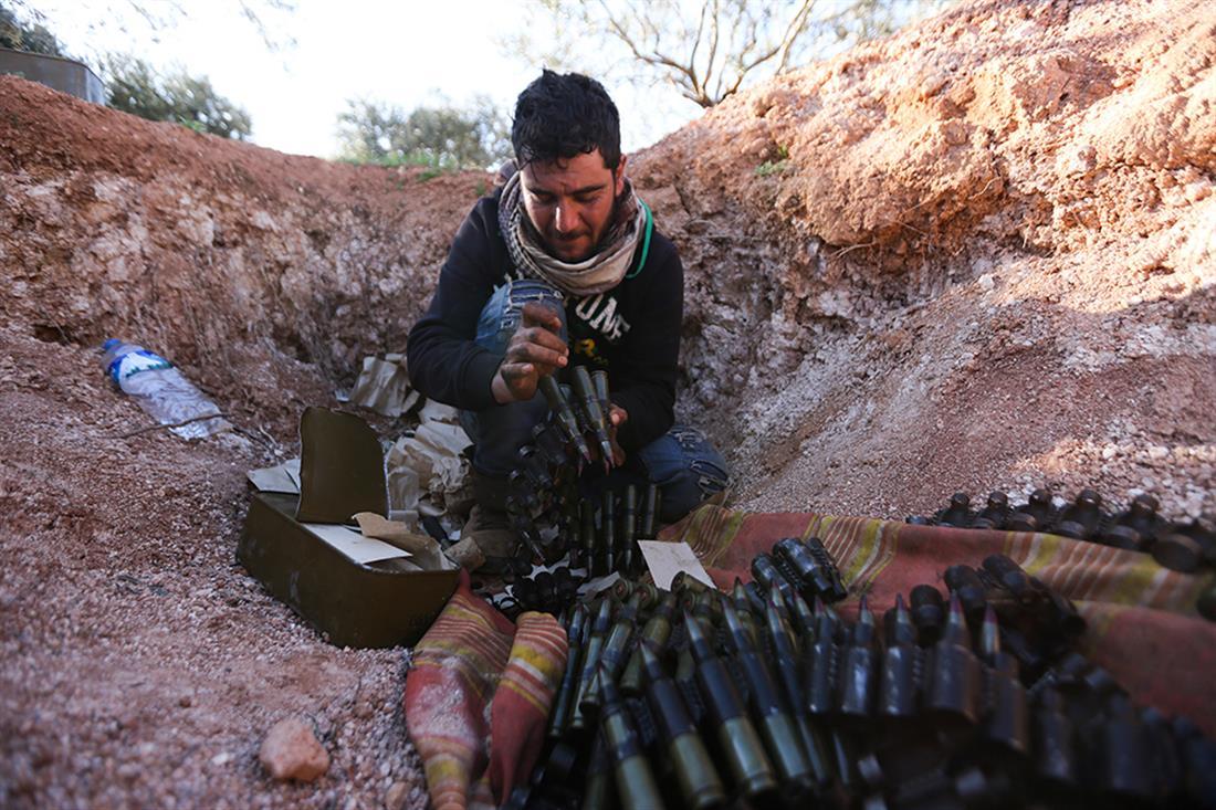 Ιμπλιντ - Συρία - μάχες - μετανάστες