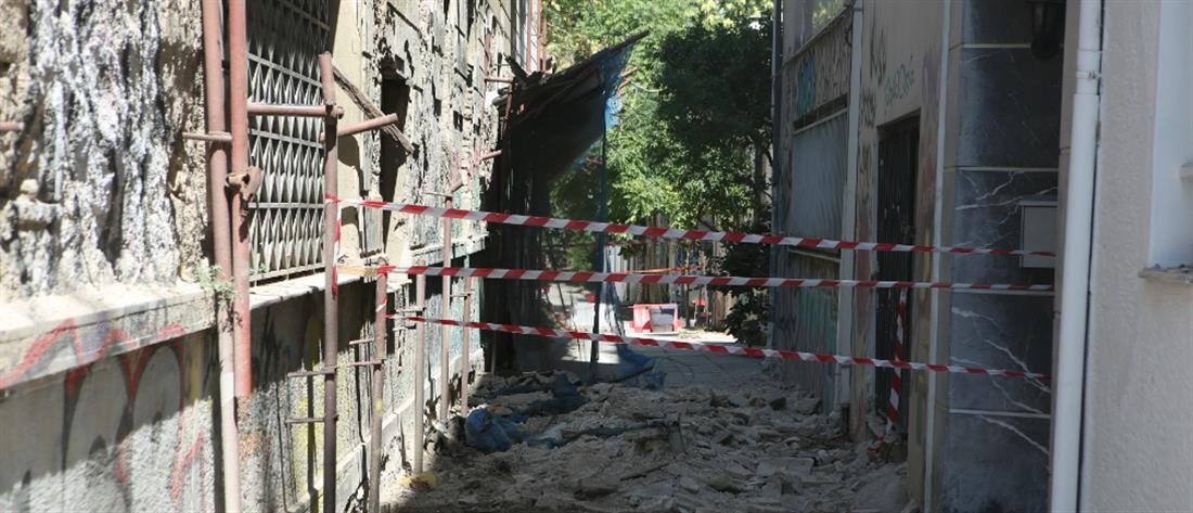 """Σεισμός στην Αττική: Αυτοψίες στα """"λαβωμένα"""" κτήρια (βίντεο)"""
