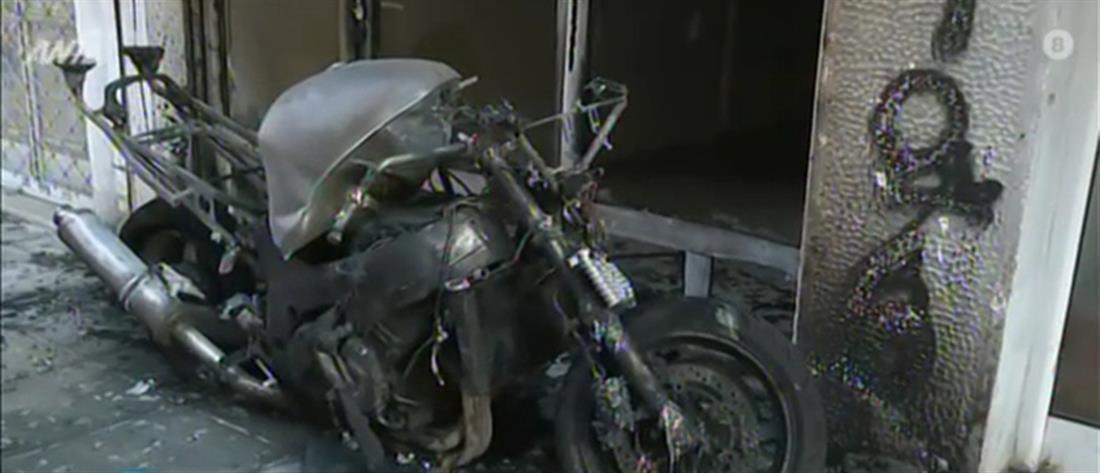 Εμπρησμός μοτοσικλέτας τα ξημερώματα