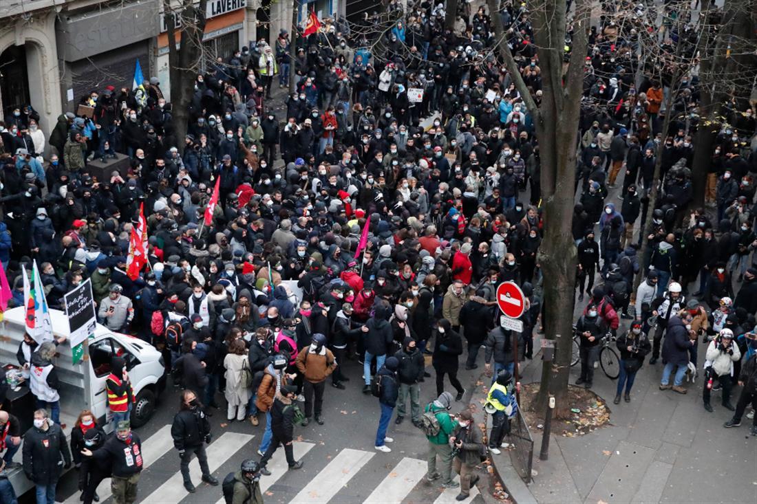 AP - Παρίσι - διαδηλώσεις - συγκρούσεις
