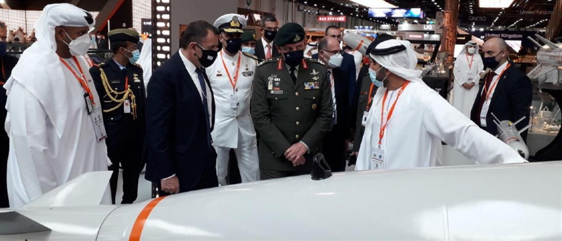 Ο Αρχηγός ΓΕΕΘΑ σε εκθέσεις αμυντικού εξοπλισμού στα Ηνωμένα Αραβικά Εμιράτα (εικόνες)