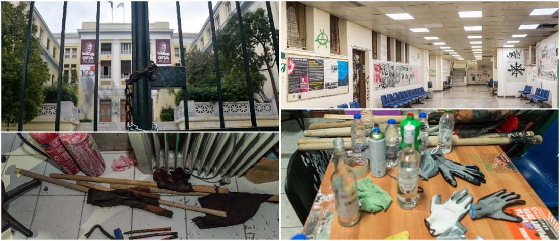 """Οικονομικό Πανεπιστήμιο: """"Λουκέτο"""" μέχρι τις 17 Νοεμβρίου έβαλε η Σύγκλητος"""