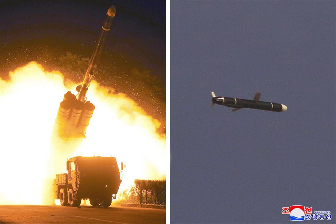 Β. Κορέα - εκτόξευση πυραύλων