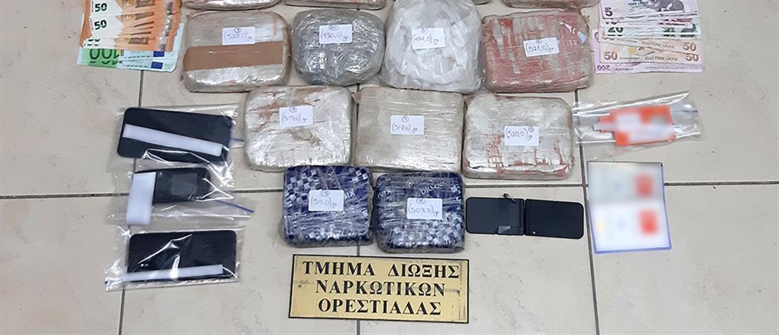 """""""Μπλόκο"""" σε 10,7 κιλά ηρωίνη από την Τουρκία (εικόνες)"""