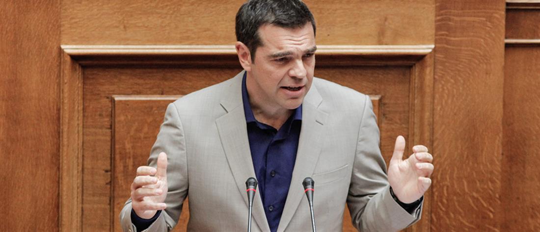 Σκληρή κόντρα Γεωργιάδη - Τσίπρα στη Βουλή