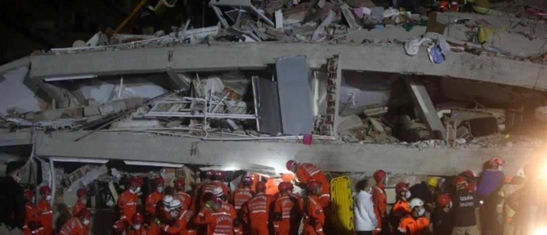 Σεισμός στην Σάμο: μετρά νεκρούς η Τουρκία (εικόνες)