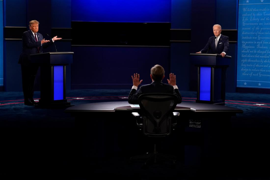 AP - Debate - Τραμπ - Μπάιντεν