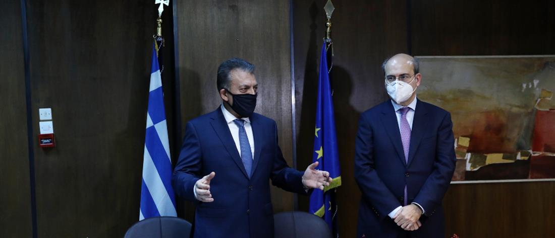 Υπουργείο Εργασίας - Βρούτσης - Χατζηδάκης