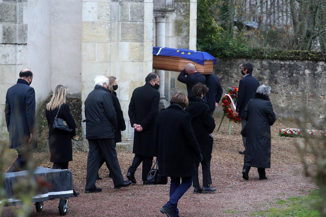 Βαλερί Ζισκάρ ντ Εστέν - κηδεία