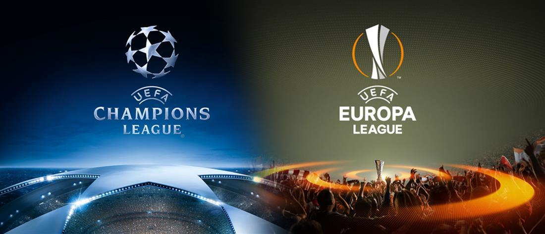 UEFA Champions League - UEFA Europa League