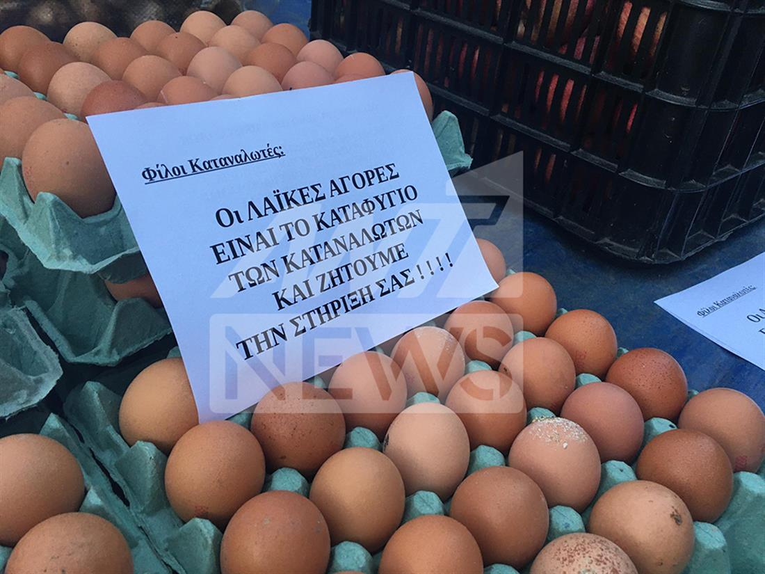 Λαϊκή αγορά - Κολωνός