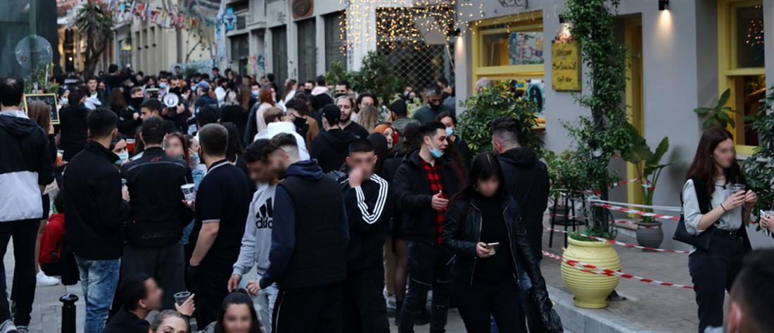 Lockdown: Προβληματισμός για τα κορονοπάρτι στις πλατείες (εικόνες)