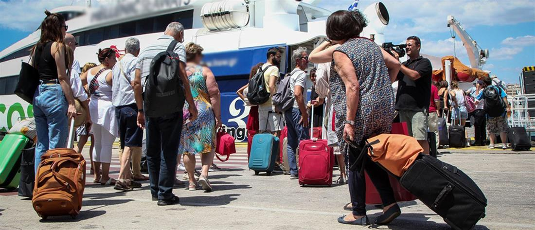 Εγκλωβισμένοι στην Σαμοθράκη εκατοντάδες ταξιδιώτες