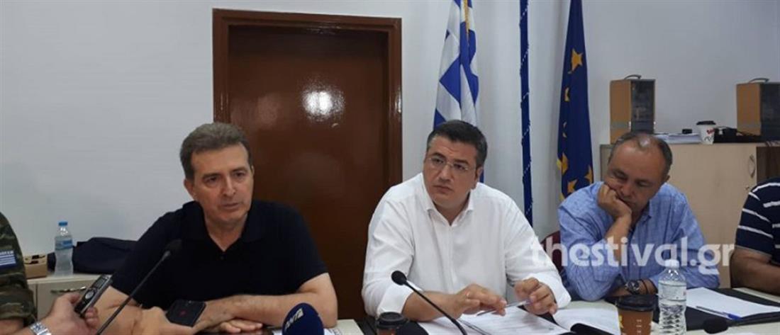 Χρυσοχοΐδης: Θρηνούμε για τα θύματα, καθήκον μας να κλείσουμε τις πληγές