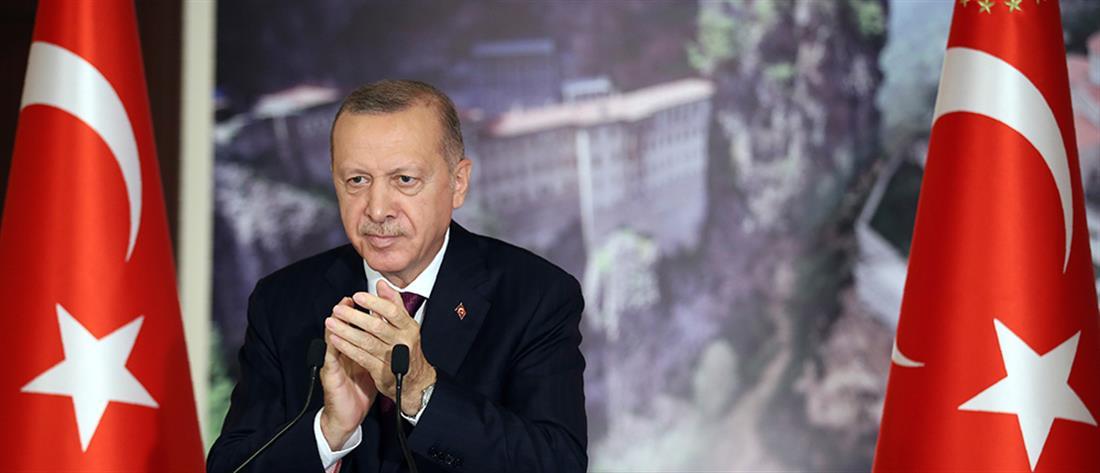Ερντογάν: Τον Δεκαπενταύγουστο θα τελεστεί λειτουργία στην Παναγία Σουμελά