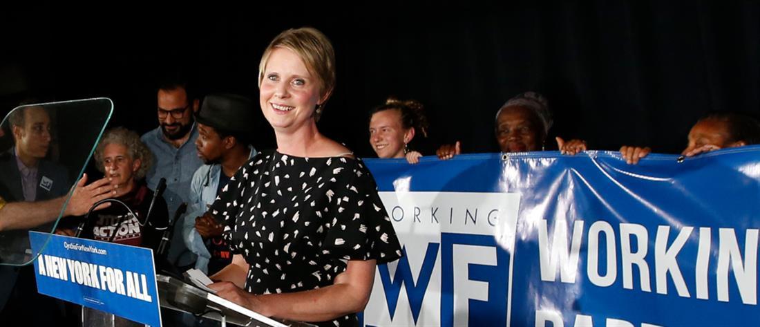 Εκτός εκλογικής κούρσας για την Νέα Υόρκη η Σίνθια Νίξον