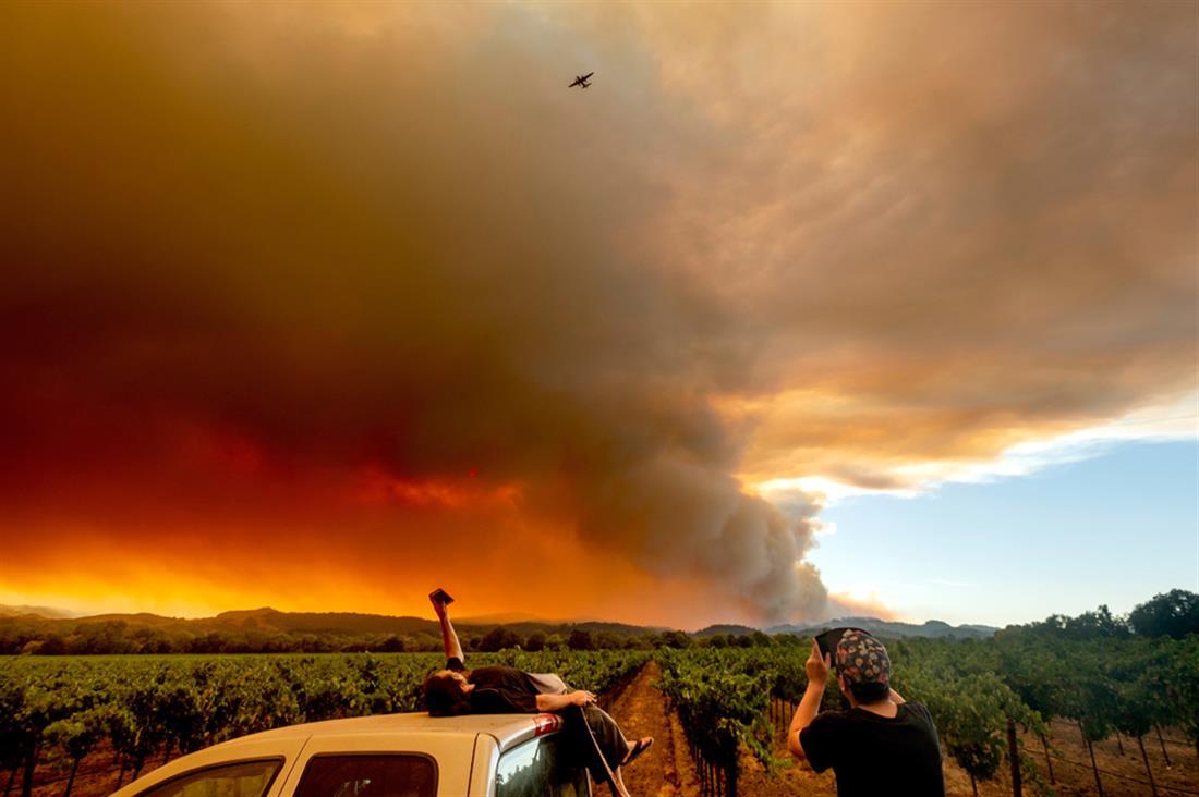 Καλιφόρνια - φωτιές