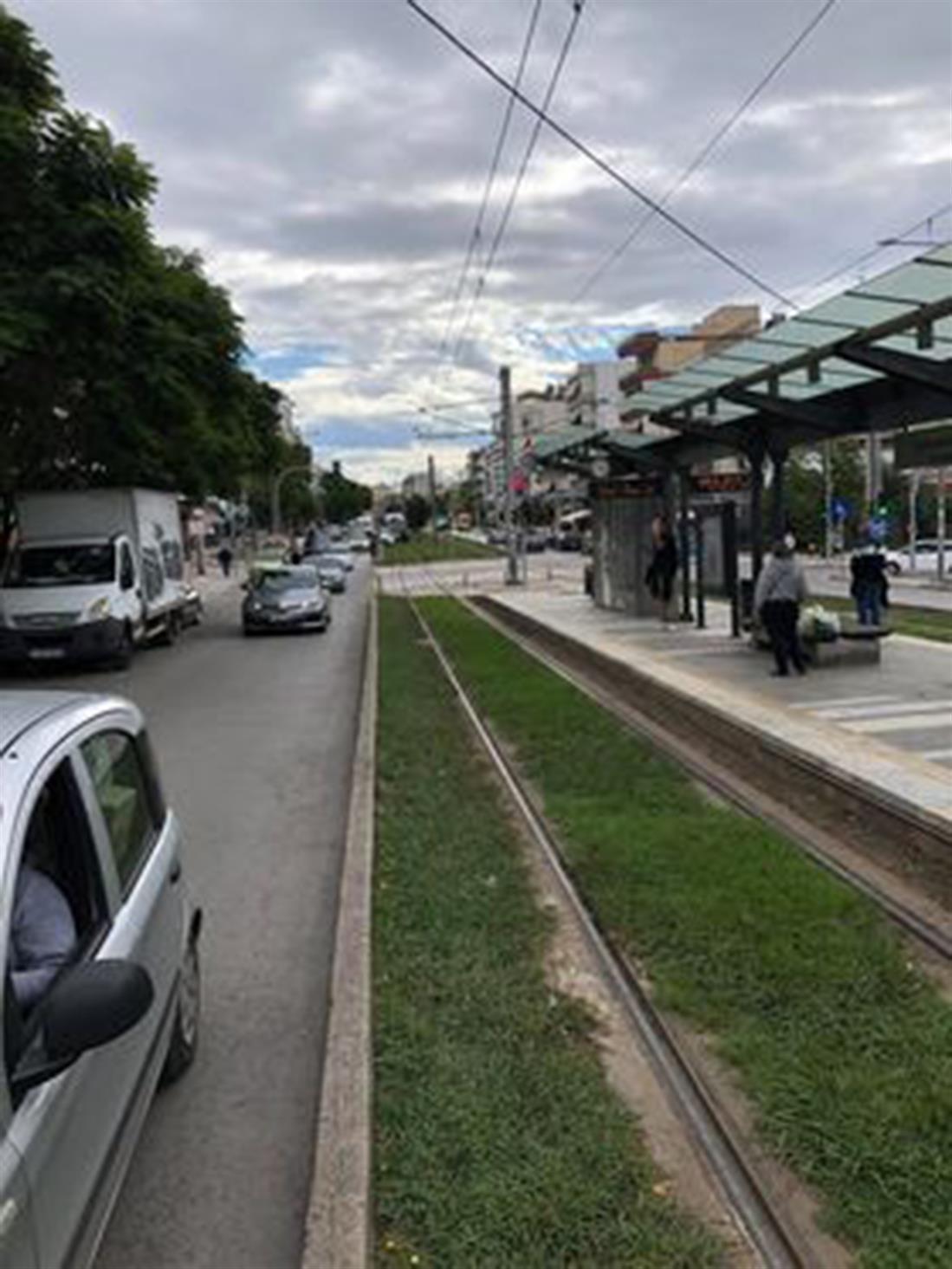 Τροχαίο ατύχημα - τραμ - Νέα Σμύρνη