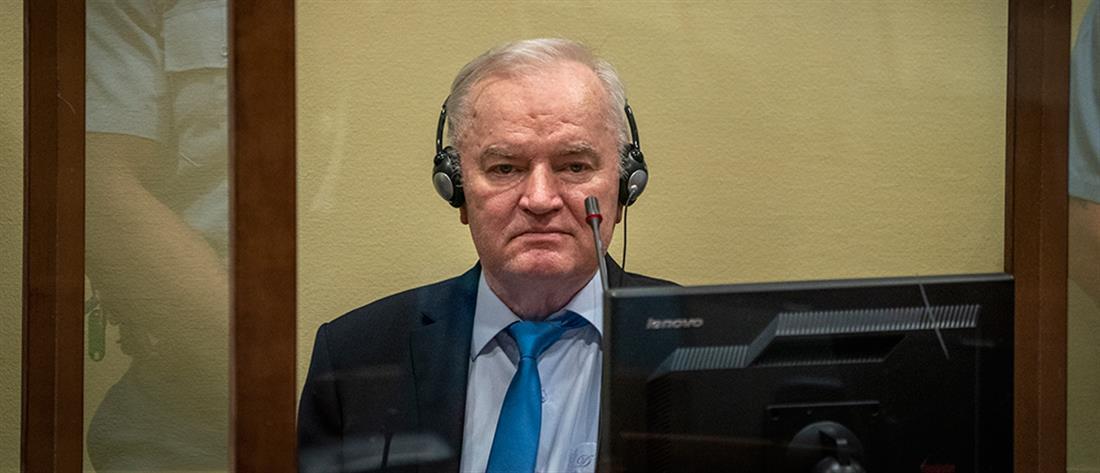 """Καταδίκη Μλάντιτς: Ανακούφιση για τα ισόβια στον """"χασάπη της Βοσνίας"""""""