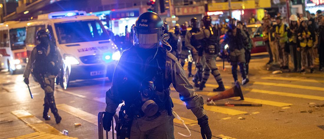 Χωρίς τέλος οι διαδηλώσεις στο Χονγκ Κονγκ (βίντεο)